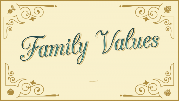 Family Values: Generosity Image